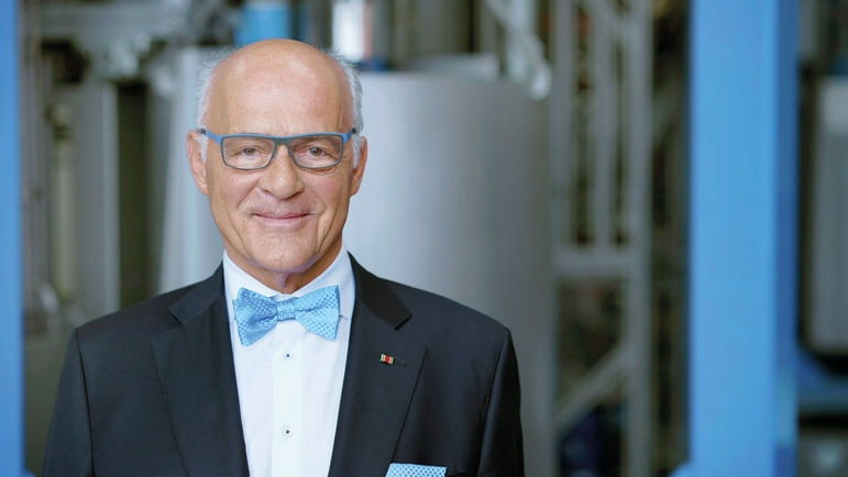 Klaus Endress, President of the Supervisory Board du groupe Endress+Hauser.